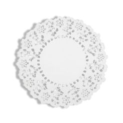 6.5 Inch / 165mm Round Paper Lace Doyley