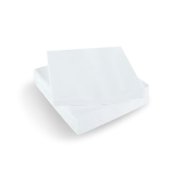 Quilted QT (1/4F 230x230) White Cocktail Napkin