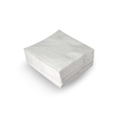 2ply QT (1/4F 400x400) White Dinner Napkin