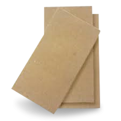 2ply GT (1/8F 400x400) Brown Recycled Dinner Napkin