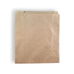 1W / 1 Square (165x180h) Brown Paper Bag
