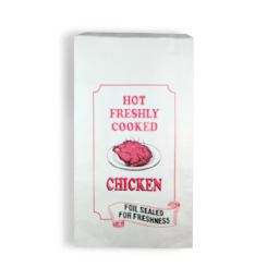 Chicken XL (185+50x320) Printed Foil Paper Bag