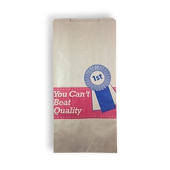 12SO (185+105x380) Quality Meat HWS Paper Bag