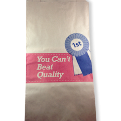 19SO (250+115x480) Quality Meat HWS Paper Bag