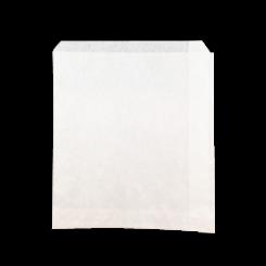 1W 1 Square (165wx180h) White Paper Bag