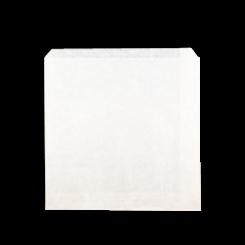 2W / 2 Square (203wx200h) White Paper Bag