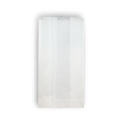 3SO (127+75x240h) White Paper Bag
