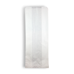 Large Bread (150+90x380h) White Paper Bag