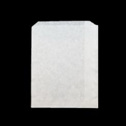 1/2F 8oz (115x145h) White Paper Bag