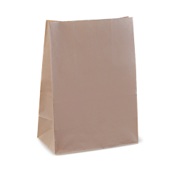 20SOS (305w+175x430h) Brown Deli Paper Bag
