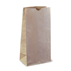 8SOS (156+102x315h) Brown Deli Paper Bag