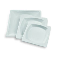 6 inch (152x152) Sugarcane Bagasse Square Plate