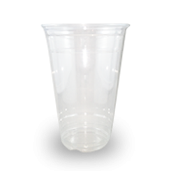 16oz / 500ml (98Dx120) PET SupaClear Cold Drink Cup