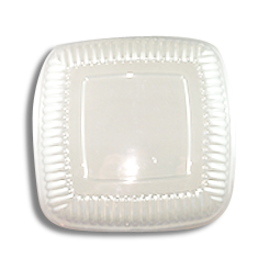 16inch Clear Square Dome Platter Lid