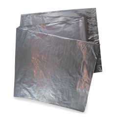 120L (950x1100h) LD HvDty Black Garbage Bag Pck25x4