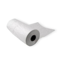 Large Gusseted (250+100x450) Clear Produce Roll (6 Rolls/Carton)