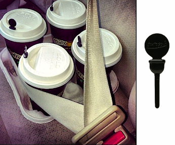 Coffee Lid Plugs - Black