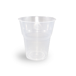 8oz/225ml (78Dx97) PP Clear Cold Drink Cup
