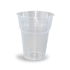 15oz/425ml (89Dx109-Schooner) PP Clear Cold Drink Cup