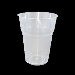 15oz/425ml (89Dx109-Schooner) PP Clear Cold Drink Cup
