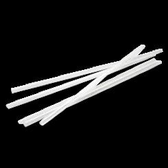 240mm Clear Thickshake Plastic Straw