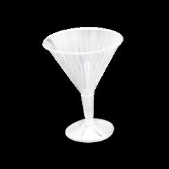 200ml/170ml Serve (100Dx130) Gourmet Styrene Cocktail Glass
