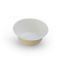 8oz (240ml) Sugarcane Bagasse Bowl