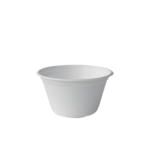 12oz / 360ml (116Dx63) Sugarcane Bagasse Soup Bowl