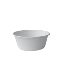22oz / 650ml (150Dx60) Sugarcane Bagasse Soup Bowl