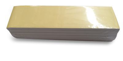 1/6 (110x400m) White Bleached Greaseproof Paper Sheets