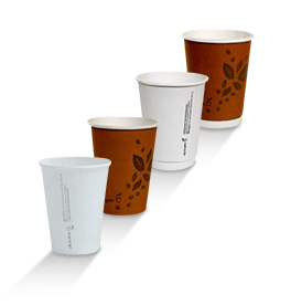 ECO Paper Coffee Cups