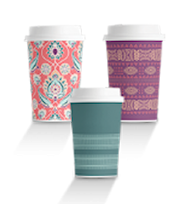 Coffee Origins - Eco Art Cups