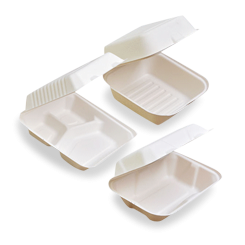 Sugarcane Bagasse Containers