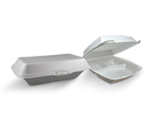 Foam Clamshell Takeaway Containers