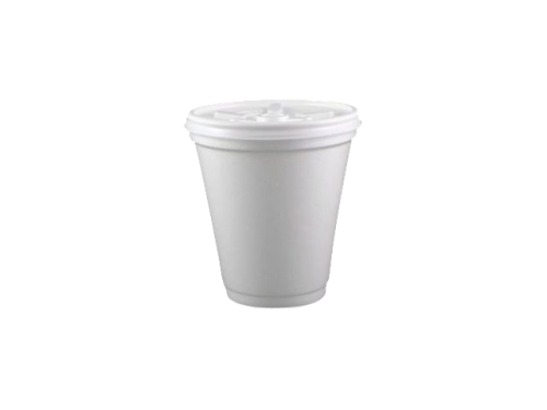 Plain White Foam Cups