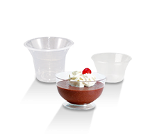 Plastic Dessert Cups