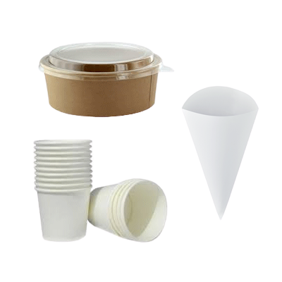 Round Food Containers, Cones