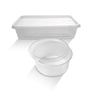 Low-Cost Plastic Takeaway Containers