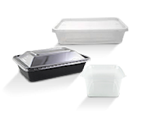 Rectangular Plastic Containers
