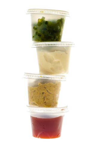 Sauce Plastic Containers