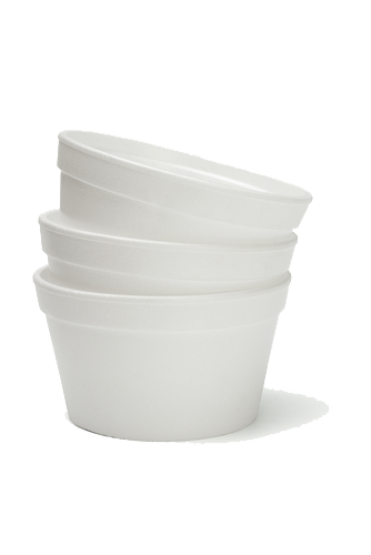 Round Foam Containers